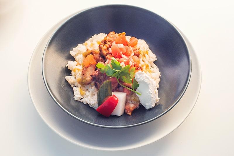 Taco rice Chicken